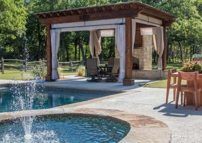 Honey Hollow Ranch Cabana